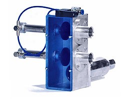 Tome controlled dosing valves