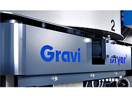 Gravu-Dryer - loss in weight drying system