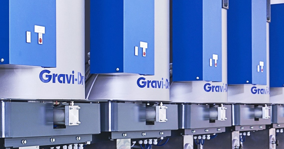Gravi-Dryer - a loss in weight drying system for plastic material handling